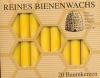 Christbaum Kerzen 100% Bienenwachs