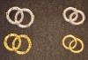 Hochzeits Ringe aus Wachs