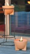Schmelz Feuer Outdoor aus Keramik