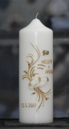 """Jubiläums Kerze """"50"""""""