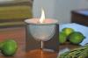 Schmelz Feuer Indoor aus Keramik mit Deckel