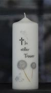 Trauer / Gedenkkerze 194